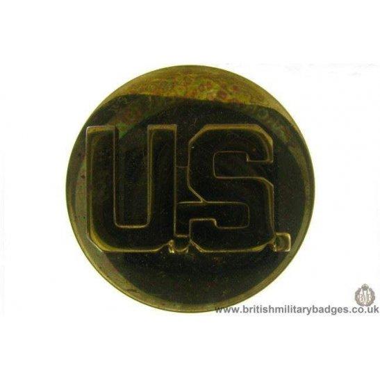 B1B/13 - United States Army American US Collar Badge