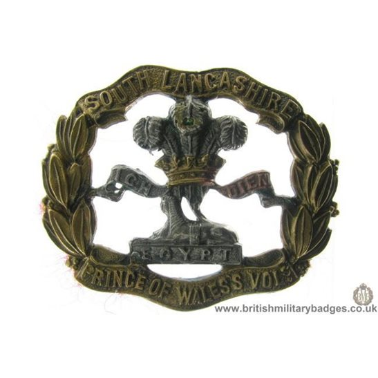 A1A/04 - South Lancashire Regiment Cap Badge