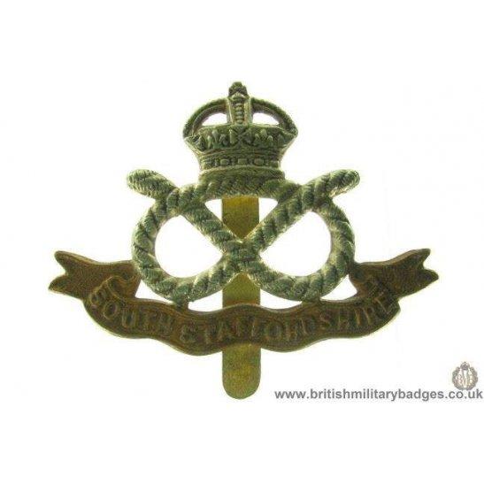 A1A/23 - South Stafford / Staffordshire Regiment Cap Badge