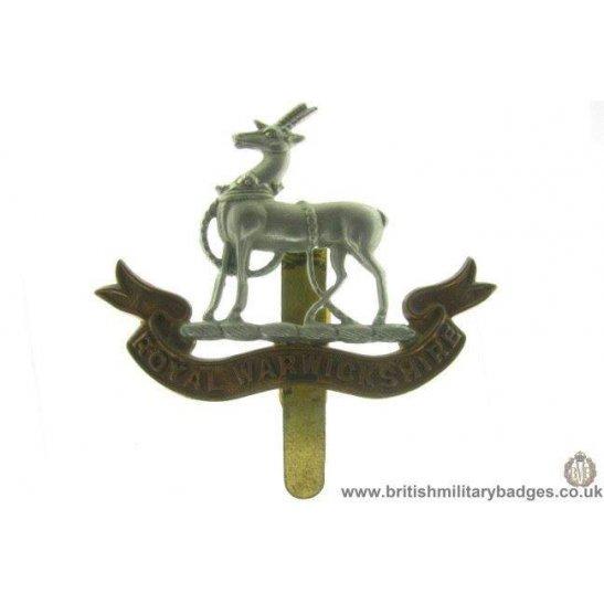 A1A/27 - Royal Warwickshire Regiment Cap Badge