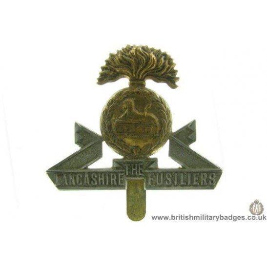 A1A/48 - The Lancashire Fusiliers Regiment Cap Badge