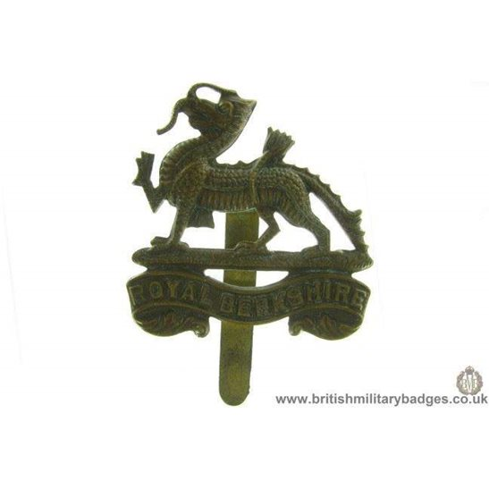 A1A/55 - Royal Berkshire Regiment Cap Badge
