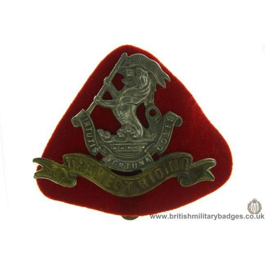 A1A/64 - The West Riding Regiment Cap Badge