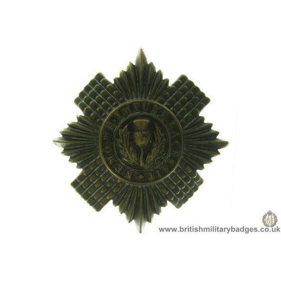 A1A/72 - Scots / Scottish Guards Regiment Cap Badge