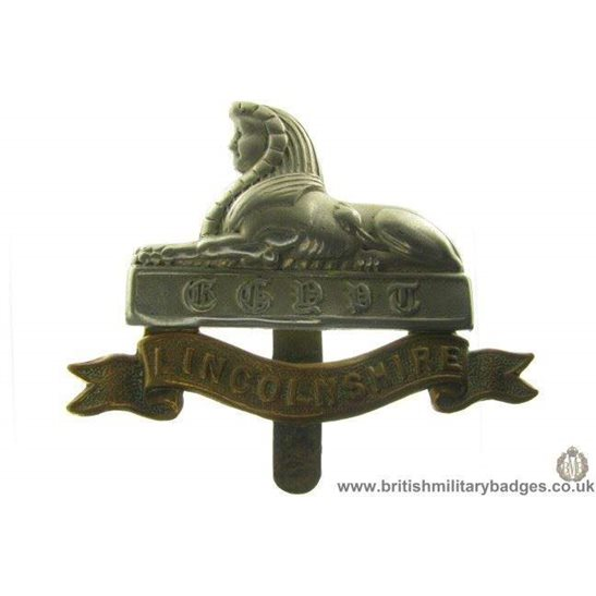 A1A/77 - Lincolnshire Regiment Cap Badge