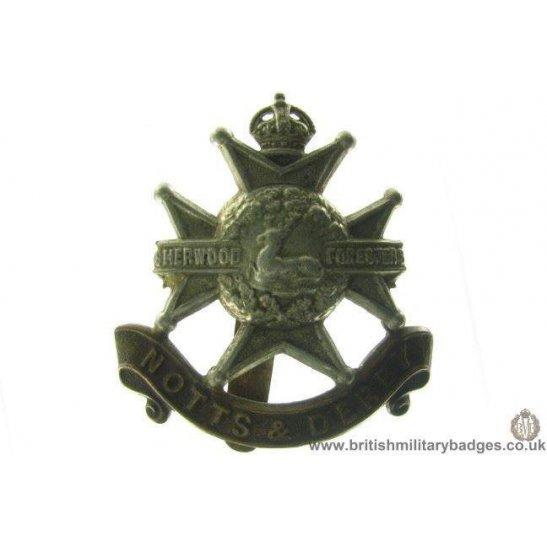 "A1A/88 - Sherwood Forresters ""Notts & Derby"" Regiment Cap Badge"