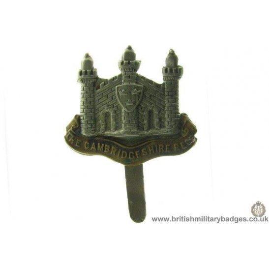 A1B/06 - The Cambridgeshire Regiment Cap Badge