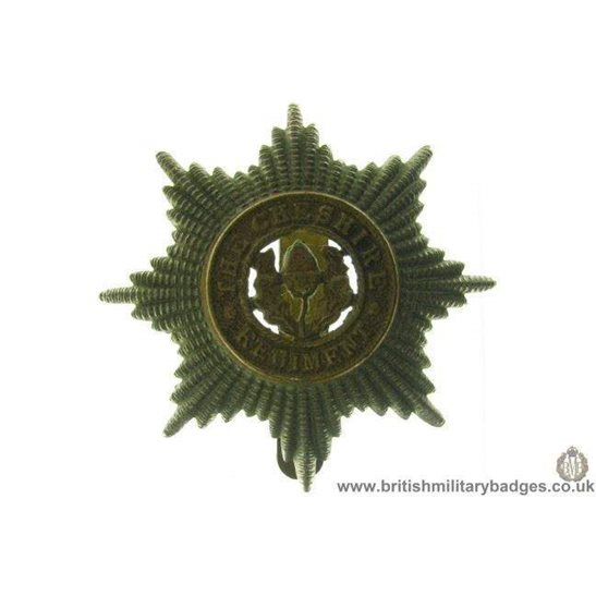 A1B/08 - Cheshire Regiment Cap Badge