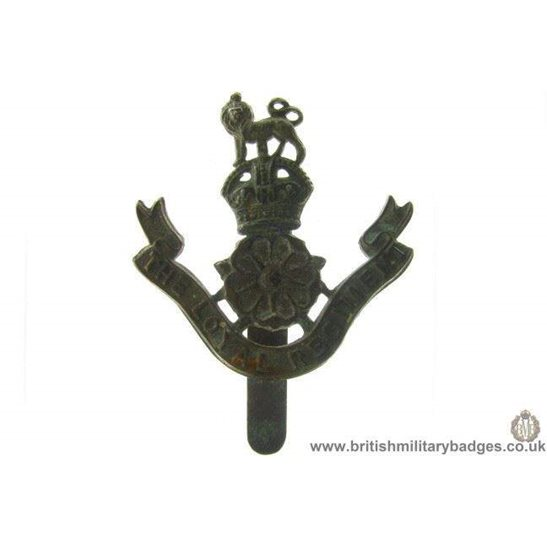 A1B/13 - The Loyal North Lancashire Regiment Cap Badge