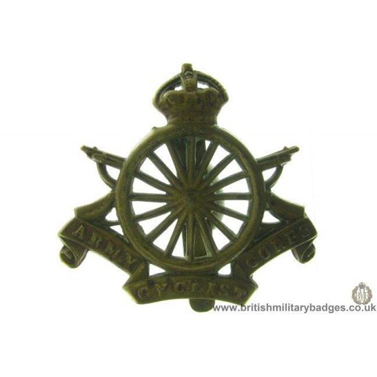 A1B/28 - Army Cyclists Corps ACC Regiment Cap Badge