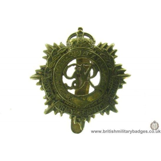 A1B/46 - Royal Army Service Corps RASC Cap Badge