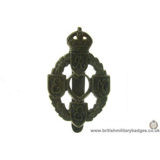 A1B/47 - Royal Electrical & Mechanical Engineers REME Cap Badge