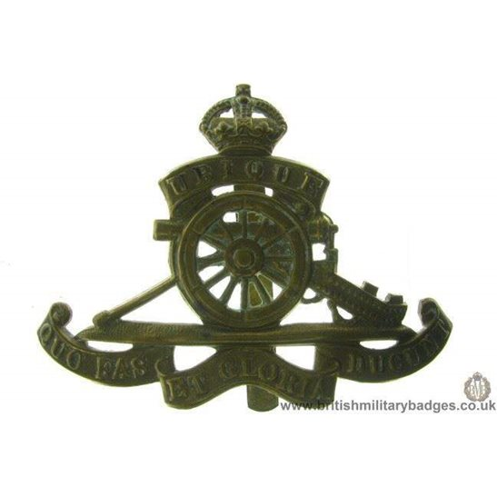 A1B/48 - Royal Artillery Regiment Cap Badge