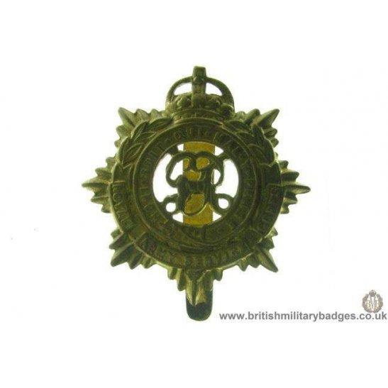 A1B/54 - Royal Army Service Corps RASC Cap Badge
