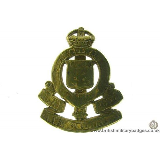 A1B/55 - Royal Army Ordnance Corps RAOC Cap Badge