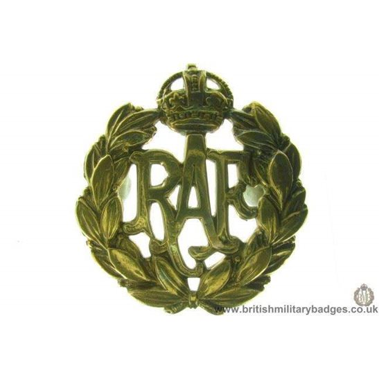 A1B/57 - Royal Air Force RAF Cap Badge