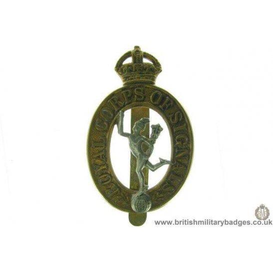 A1B/61 - Royal Corps of Signals RCOS Cap Badge