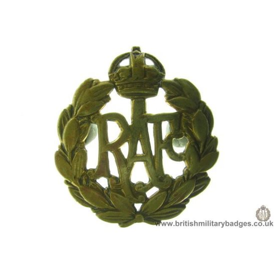 A1B/63 - Royal Air Force RAF Cap Badge