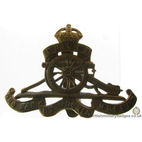 A1B/69 - Royal Artillery Regiment Cap Badge