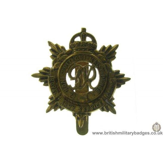 A1B/71 - Royal Army Service Corps RASC Cap Badge
