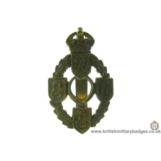 A1B/77 - Royal Electrical & Mechanical Engineers REME Cap Badge