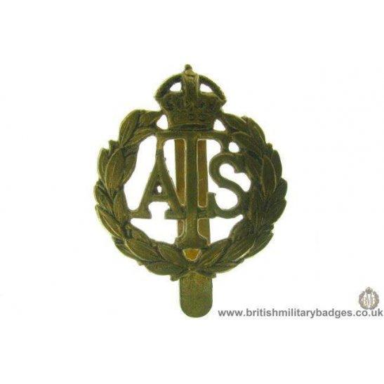 A1B/80 - Auxiliary Territorial Service ATS Cap Badge