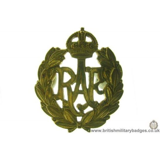A1C/10 - Royal Air Force RAF Cap Badge