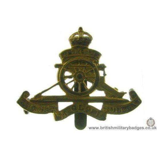 A1C/11 - Royal Artillery Regiment BERET SIZE Cap Badge