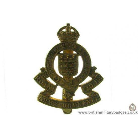 A1C/16 - Royal Army Ordnance Corps RAOC Cap Badge
