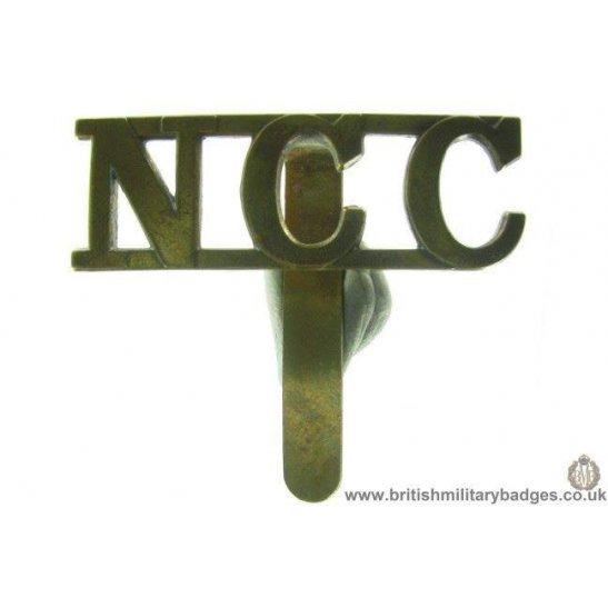 A1C/60 - Non Combatant Corps NCC Cap Badge
