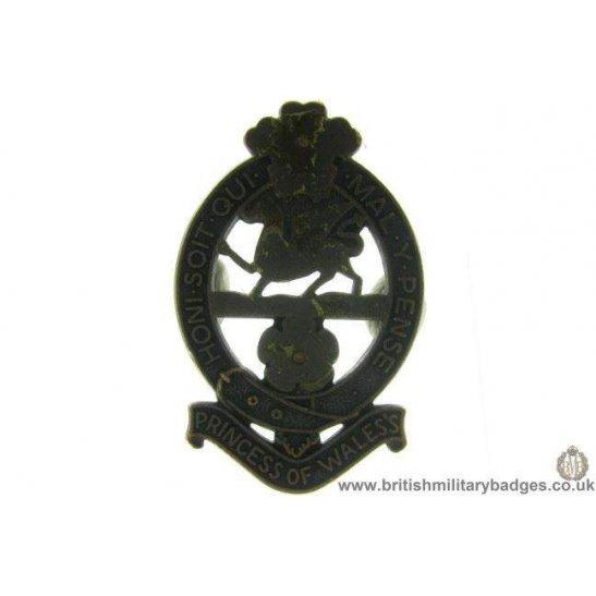 A1C/62 - Princess of Wales's Royal Regiment Cap Badge