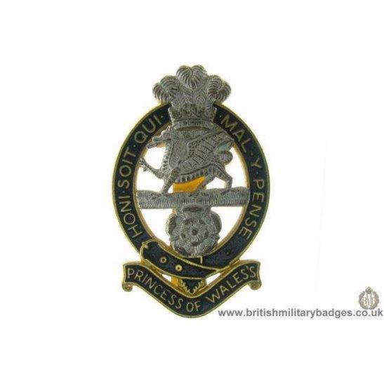 A1C/67 - Princess of Wales's Royal Regiment Cap Badge