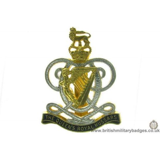 A1C/74 - The Queens Royal Hussars Regiment Cap Badge - QC