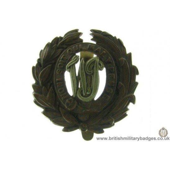 A1D/31 - West Indies / West India Regiment Cap Badge