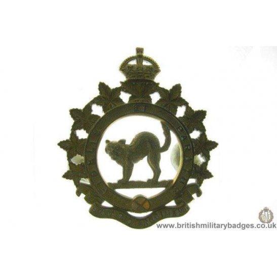A1D/35 - The Ontario Regiment Cap Badge