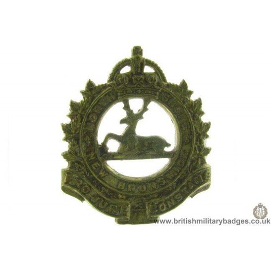A1D/36 - North Shore New Brunswick Canadian Regiment Cap Badge