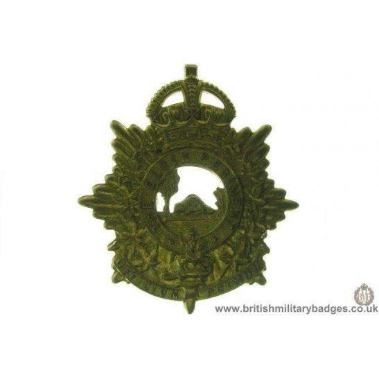 A1D/38 - The Elgin Regiment Canadian Cap Badge