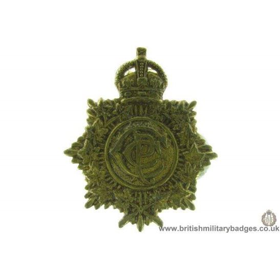 A1D/45 - The Canadian Postal Corps CPC Cap Badge