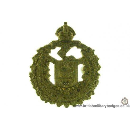 "A1D/47 - Lord Strathcona's Horse ""Royal Canadians"" Cap Badge"