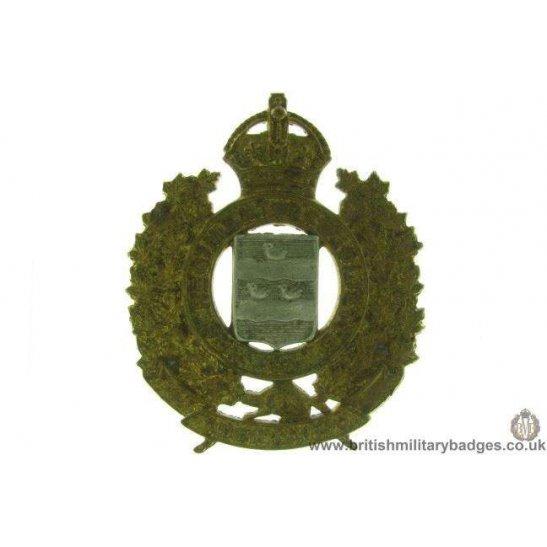 A1D/53 - Le Regiment De Joliette Canadian Cap Badge