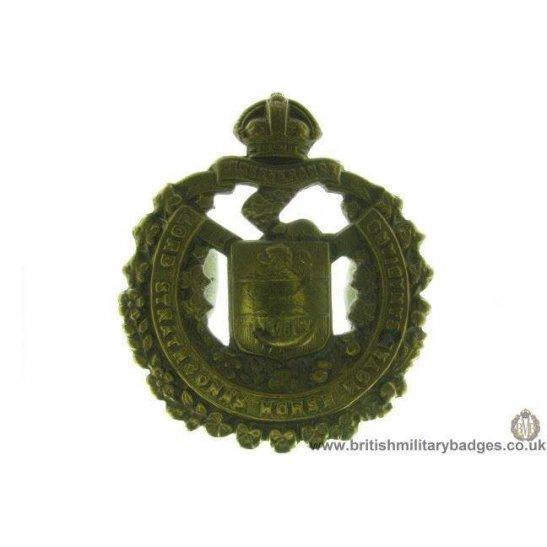 "A1D/54 - Lord Strathcona's Horse ""Royal Canadians"" Cap Badge"