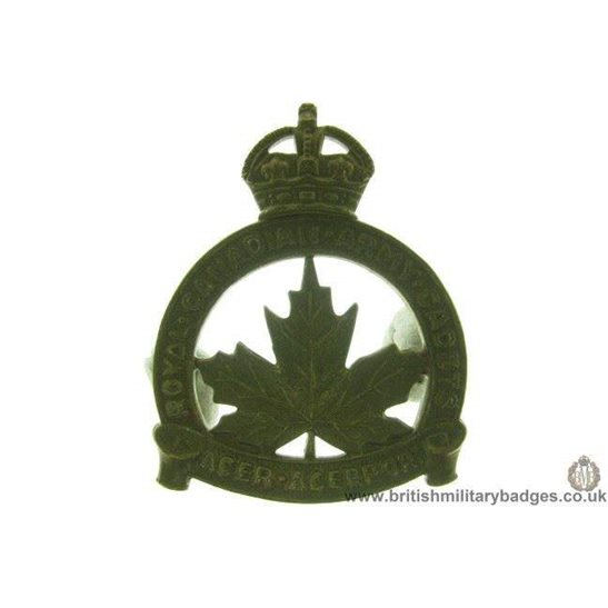 A1D/55 - Royal Canadian Army Cadets Corps Cap Badge
