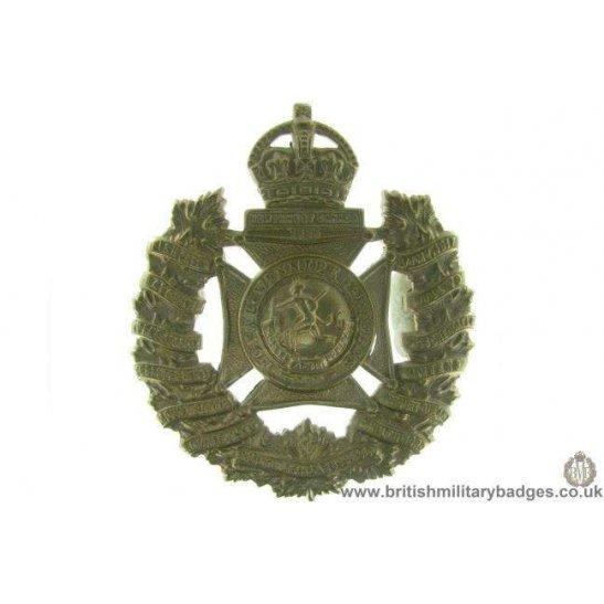 A1D/61 - The Royal Winnipeg Rifles Regiment Canadian Cap Badge