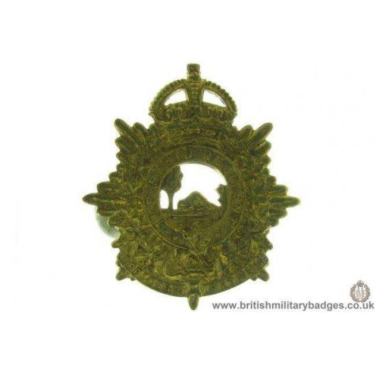A1D/62 - The Elgin Regiment Canadian Cap Badge