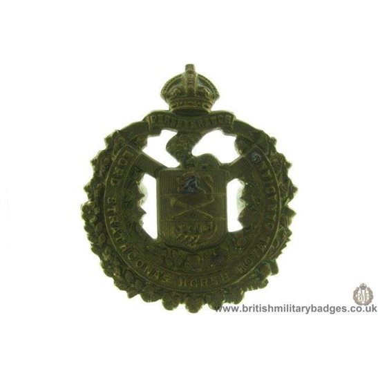 "A1D/67 - Lord Strathcona's Horse ""Royal Canadians"" Cap Badge"