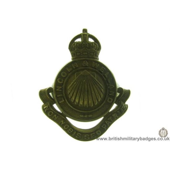 A1D/70 - Lincoln & Welland Regiment Canadian Cap Badge