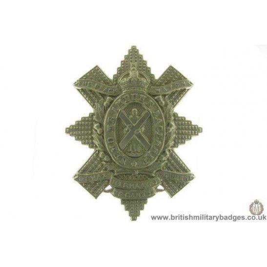A1D/85 - Royal Highland Regiment of Canada Black Watch Cap Badge
