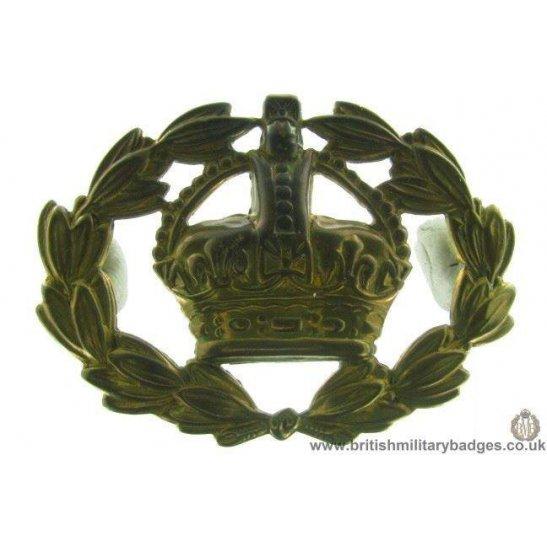 A1E/10 - Warrant Officer's Arm / Sleeve Cap Badge