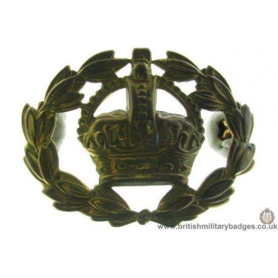 A1E/13 - Warrant Officer's Arm / Sleeve Cap Badge