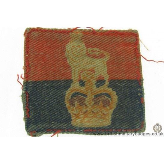 E1A/06 - War Office Controlled Unit British Army Patch Badge QC